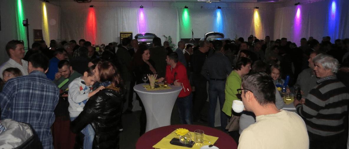 50 Jahr Feier im Autohaus Friedwagner